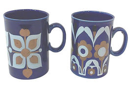 Vintage Staffordshire Mugs-A Pair - $44.00