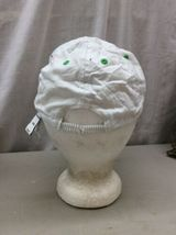 Trucker Hat Baseball Cap Vintage OLD NAVY NY CA KIDs L/G/G White fitted Retro image 3