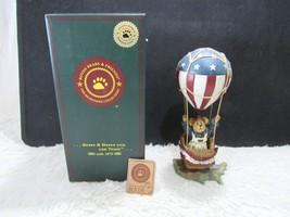 2001 Boyd's Resin Betsy B. Bearamerica...Celebrate America Collectible F... - $13.99