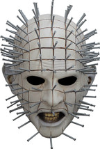 Hellraiser III Pinhead Mask, Quality Overhead Latex Halloween, Comic Con... - £42.37 GBP