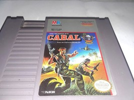 Cabal Nintendo NES Cleaned Tested Guaranteed Free Shipping Today - $9.99