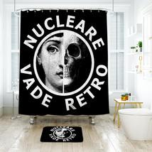 Vade Retro Shower Curtain Waterproof Polyester Fabric & Bath Mat For Bathroom - $16.30+