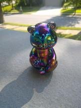 Fenton Bear 5151 Cobalt 1980s  Carnival Glass - $39.99