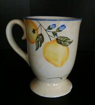 Waverly Footed Mug - $4.25
