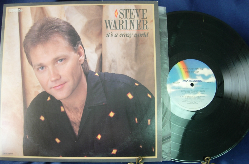 Steve Wariner - It's A Crazy World - MCA Records 5926