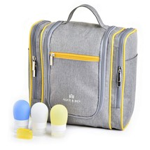 Hanging Toiletry Bag – Large Travel Toiletries Organizer with Strong Met... - €16,04 EUR