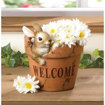 Welcoming Bunny Planter - $19.95