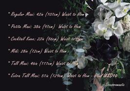 2021 Floor Length Chiffon Skirt High Waist Wedding Skirt Outfit Plum Plus Size  image 12