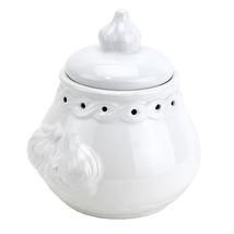 Garlic Keepers, Terra Cotta Italian Garlic Pot Ceramic - White - $45.41