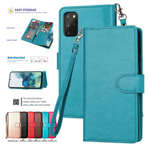 For Samsung S20+ Note 20 Ultra A51 A71 Leather Wallet Magnetic flip cover Case - $49.55