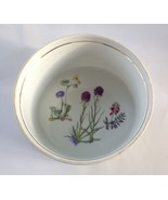 Louis Lourioux Le Faune Wildflower Baking Dish Fire Proof Porcelain - $24.65