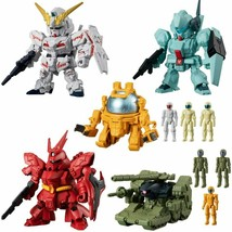 candy toy Mobile Suit Gundam micro Wars 4 [all 5 sets (Full comp - $54.45
