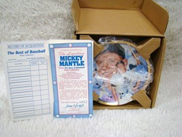 """Hamilton Collection """"The Legendary Mickey Mantle"""" Best of Baseball Colle... - $14.84"""