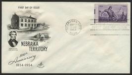 #1060 3c Nebraska Territory, Art Craft-Addressed FDC **ANY 4=FREE SHIPPI... - $1.00