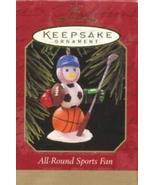 1997 All-Round Sports Fan Hallmark Keepsake Ornament QX6392 - $24.75