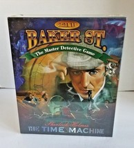 221B Baker Street The Master Detective Game Sherlock Holmes The Time Mac... - $37.95