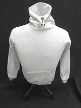 Jerzees Nublend~Hooded Hoodie Pullover Sweatshirt Lt. Gray Size Youth M ~ Nwot - $11.28