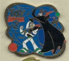 Disney Toy Story 2  fighting Zurg History of Art  Authentic Japan pin/ - $79.99
