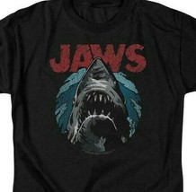 Jaws retro 70's 80's thriller movie Amity Island graphic t-shirt UNI994 image 2