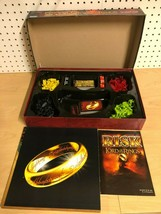Risk The Lord of the Rings The Middle Earth Conquest Game 99% Complete - $39.48