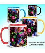 Tropical Hearts Mug by Creative Devotions - $21.95