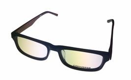 Converse Mens Ophthalmic Soft Rectangle Plastic Frame Black Q009 - $35.99