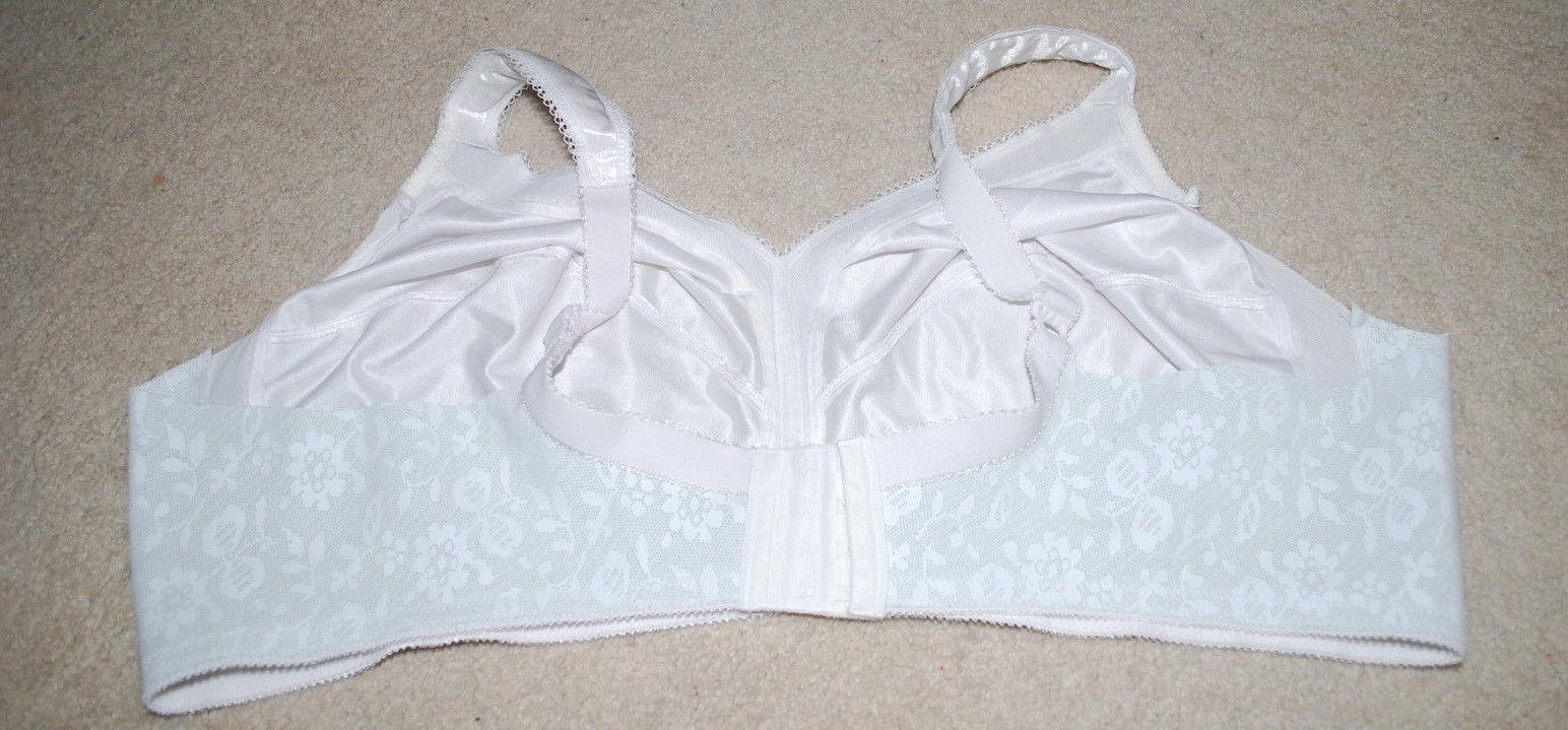 40 DD White Bra Nylon Spandex 5342 40DD and similar items