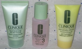 Clinique 3-Step System for Oily Skin - Sample Set - $9.95