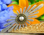 Vintage taxco mexico sterling silver dome modernist brooch pin ts 91 thumb155 crop