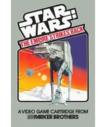 "Star Wars 24 x 36 Atari Parker Bros ""The Empire Strikes Back"" Video Game... - $45.00"