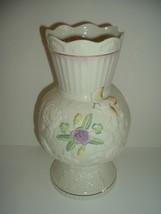 Belleek Ireland 150 Years Songbird Vase - $45.00