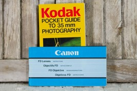 Kodak Pocket Guide to 3mm Photography Canon Camera FD Lens Instruction M... - $9.99