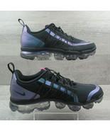 Nike Air VaporMax Run Utility Throwback Black Size 10 Running Shoes AQ88... - $133.64