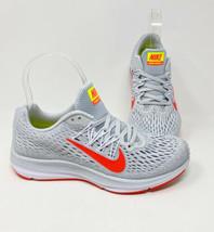 Nike Women's Size 6 Zoom Winflo 5 Running Shoes Gray Orange AA7414 005 NEW - $74.69