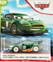 """Disney Pixar Cars """"Nigel Gearsley with Flames"""" Toy Car"""