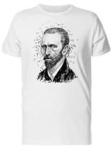 Sketch Of Vincent Van Gogh Men's Tee -Image by Shutterstock - $12.86+