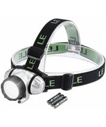 LED Headlamp Flashlight, Headlight with Red Light, Water Resistance, Adj... - $27.00