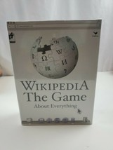 New - The Game About Wikipedia The Online Encyclopedia Party Trivia Game... - $6.56