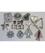 Antique & Vintage Metal Cookie Cutter Lot - €22,04 EUR