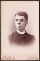 Ambrose H. White Cabinet Photo - University of Maine Class of 1889 (Orono) - $17.50
