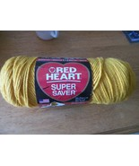Red Heart Super Saver Yarn 7 oz 1 skein (0321 gold) 7 available - $3.22