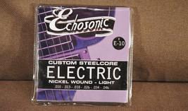 1 Package Echosonic Electric Guitar Strings .010 - .046 Nickel wound - $3.79