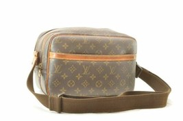 LOUIS VUITTON Monogram Reporter PM Shoulder Bag M45254 LV Auth cr252 **TEAR - $280.00