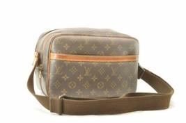 LOUIS VUITTON Monogram Reporter PM Shoulder Bag M45254 LV Auth cr252 **TEAR - $280.00