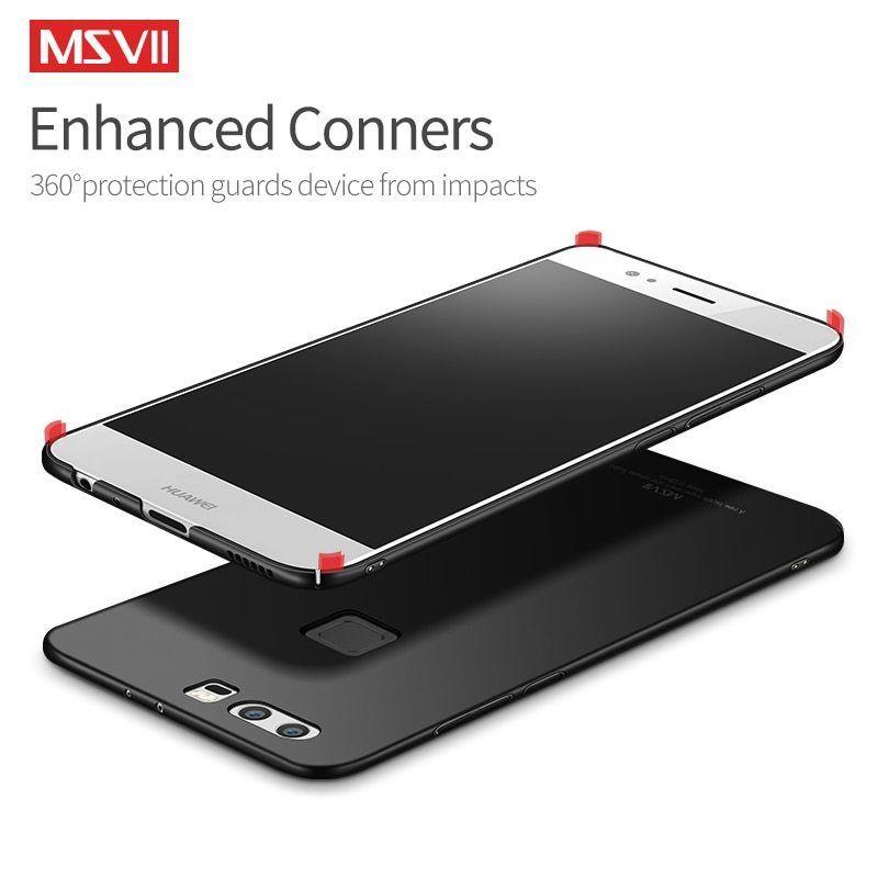 Msvii® Phone Case For Huawei P9 P9 Lite P9 Plus Phone Cases Luxury Classic