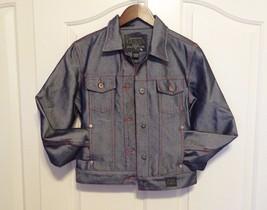 Guess Jeans Premium Denim Jacket Red Thread Vintage EUC - $29.65
