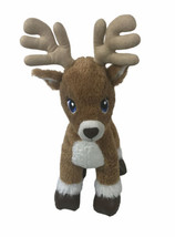 "Build a Bear Reindeer 16"" Plush Blue Eyes - $44.54"