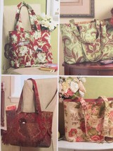 Butterick Sewing Pattern 5267 Waverly Four Tote Bags New - $17.14