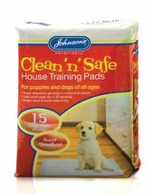 Jvp Clean 'n' Safe House Training Pads Large 15pk - $15.01