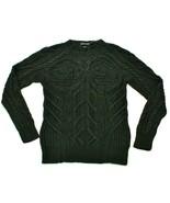 Ralph Lauren Pull Homme Main Tricoté Lin Taille M Noir Étiquette - $269.03